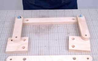 Станина из фанеры для электрического рубанка