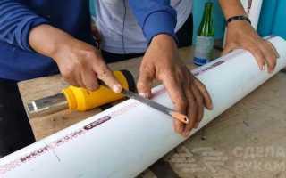 Вертикальная грядка своими руками из пластиковой трубы