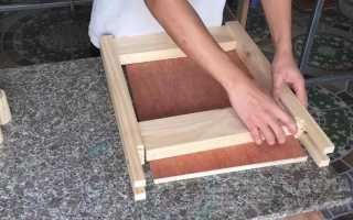 Самодельный плоскошлифовальный станок из обрезков древесины