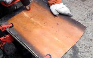 Облегченная лопата для уборки снега из ПВХ трубы