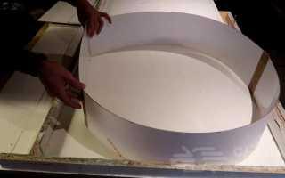 Журнальный столик с бетонной столешницей