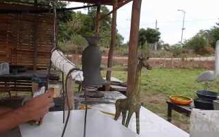Как сделать фигурку жирафа из цемента
