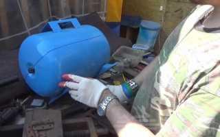 Как сделать барбекю-гриль из небольшого газового баллона