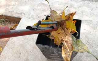 Инструмент для уборки опавших листьев на участке