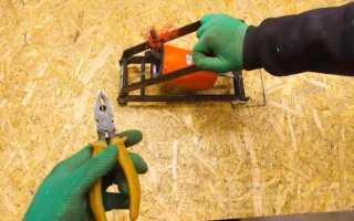 Как сделать торцовку из ручной циркулярки и старого насоса