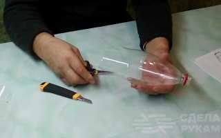 Декоративный кувшин из цемента и тюли своими руками
