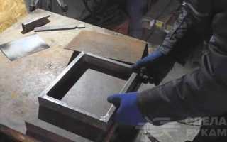 Самодельный столик из металла для ручного фрезера