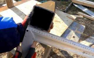 Самодельная «бабка» для ручного забивания столбов под забор