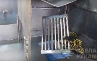 Уличная печь-мангал из подручных материалов