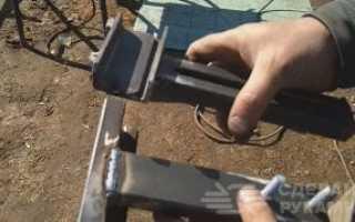 Удобные приспособления чтобы сделать забор из профнастила