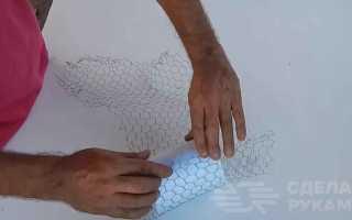 Как сделать кружку из пенопласта и цемента