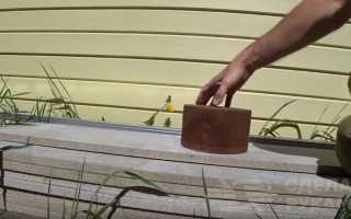 Как сделать высокую грядку из плоского шифера