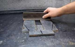 Гибочный прокатный станок по металлу своими руками