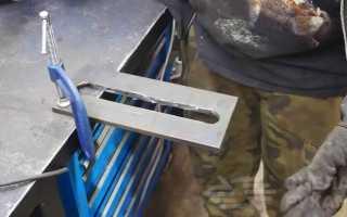 Слесарные тиски своими руками из толстого металла