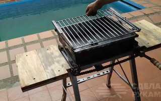 Как сделать регулируемый гриль-барбекю своими руками