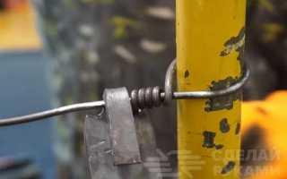 Приспособление для закручивания стальной проволоки