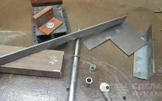 Быстрозажимные слесарные тисы из металлолома