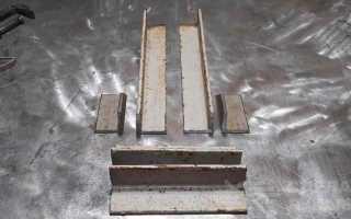 Тисы из металлолома для домашней мастерской