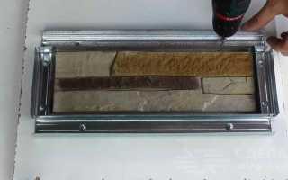 Форма под искусственный камень из силикона и муки