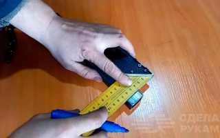 Угловое соединение профильной трубы без сварки и болтов