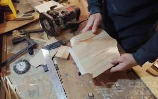 Как сделать дверной звонок из доски и капкана