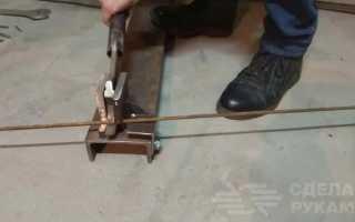 Ножницы для резки толстой стальной проволоки
