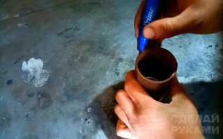 Новый способ сварки круглой трубы под 90 градусов