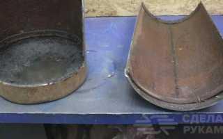 Бесколосниковая печь своими руками из трубы большого диаметра