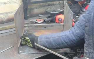 Экономная конвекционная печь для обогрева гаража