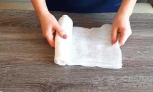 Марлевая повязка своими руками пошагово, как сделать на резинке