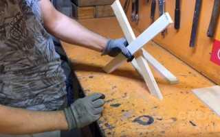 Изготовление складных табуретов своими руками