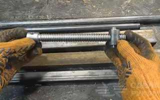 Самодельные трубные тиски для гаража и мастерской