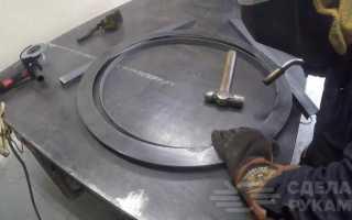 Классный навесной гриль из металла своими руками