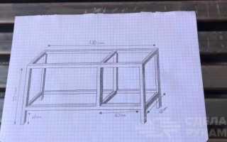 Рабочий стол для домашней мастерской и гаража