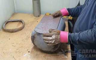 Большая печь с двумя варочными поверхностями