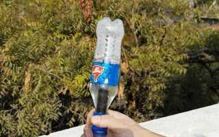 Простой мини фильтр для воды из пластиковых бутылок
