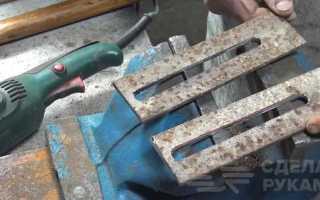 Приспособление для очистки круглых труб от ржавчины