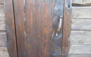 Как сделать оригинальную деревянную дверь в баню