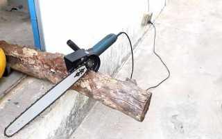 Как из маленькой болгарки сделать электропилу