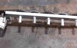 Самодельный мангал с электроприводом для шампуров