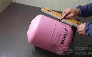 Компактная печка своими руками из фреонового баллона