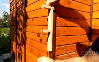 Точный самодельный отвес из обрезков фанеры