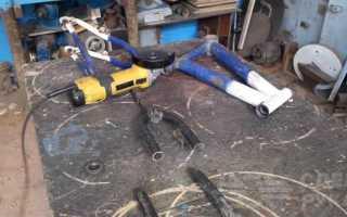 Станок из УШМ для изготовления деревянных ложек