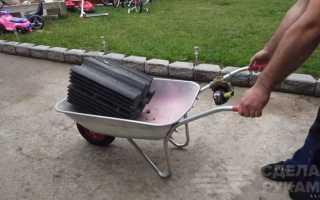 Делаем электропривод на садовую тележку
