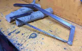Как сделать складную ножовку по дереву своими руками