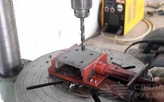 Станок для измельчения веток из УШМ и пильных дисков