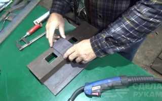 Пневматические тиски своими руками для домашней мастерской