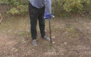 Простой инструмент для точечного удаления сорняков