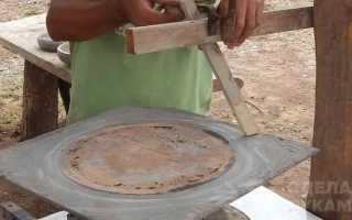 Простая технология изготовления цветочной клумбы из бетона