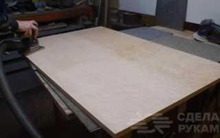Декоративный стол в виде контактной платы